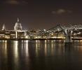 St Paul's Cathidral with Milenium Bridge in Front